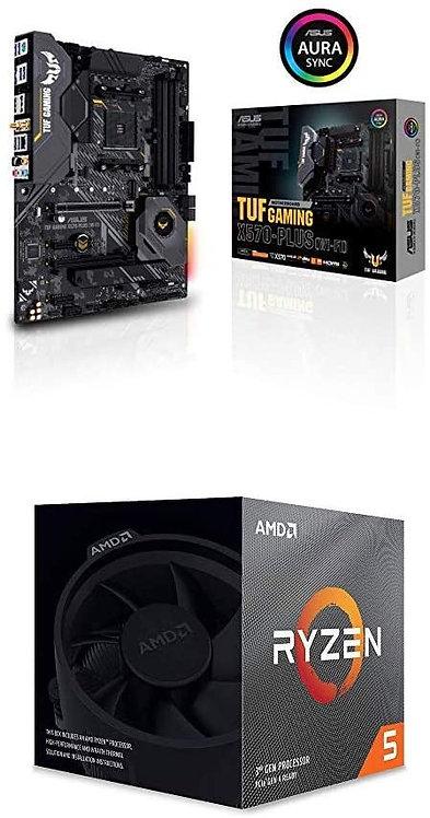 ASUS AM4 TUF Gaming X570-Plus (Wi-Fi) ATX Motherboard