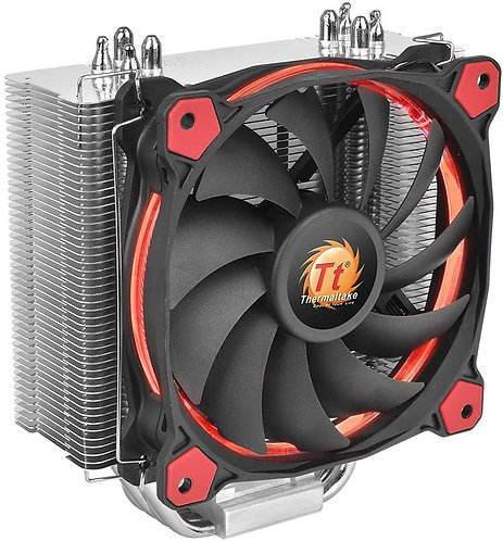 Thermaltake Silent 12 cm CPU Cooler with Ring Fan - Red