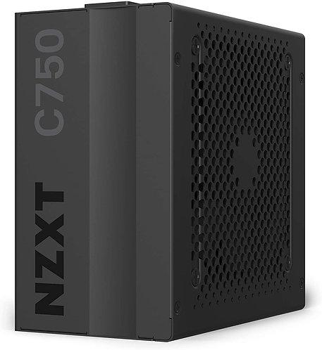 NZXT C750 - NP-C750M - 750 Watt PSU - 80+ Gold Certified - Hybrid Silent Fan Con