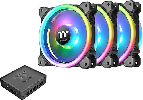 Thermaltake 120mm Software Enabled LED 9 Blades Case/Radiator Fan