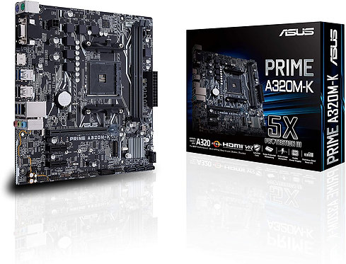 Asus AMD AM4 Prime A320M-K, 90MB0TV0-M0EAY0