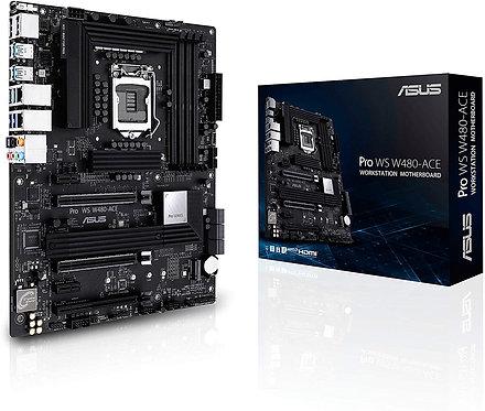 ASUS Pro WS W480 ACE LGA1200 (Intel 10th Gen) ATX Workstation Motherboard