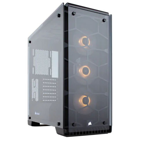 Corsair Crystal 570X RGB Tempered Glass, Premium ATX Mid-Tower Case