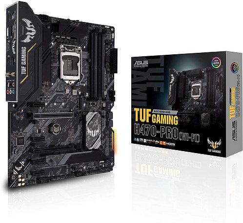 ASUS TUF Gaming H470-PRO WiFi 6 LGA1200 (Intel 10th Gen) ATX Gaming Motherboard