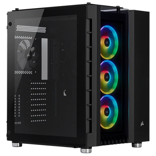 Corsair Crystal Series 680X RGB ATX High Airflow Tempered Glass Smart Case