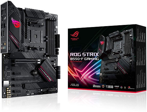 ASUS ROG Strix B550-F Gaming AMD AM4 Zen 3 Ryzen 5000 & 3rd Gen