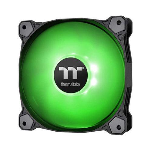 Thermaltake 140mm Pure A14 PWN Case Fan (Single Pack)-Green CL-F110-PL14GR-B
