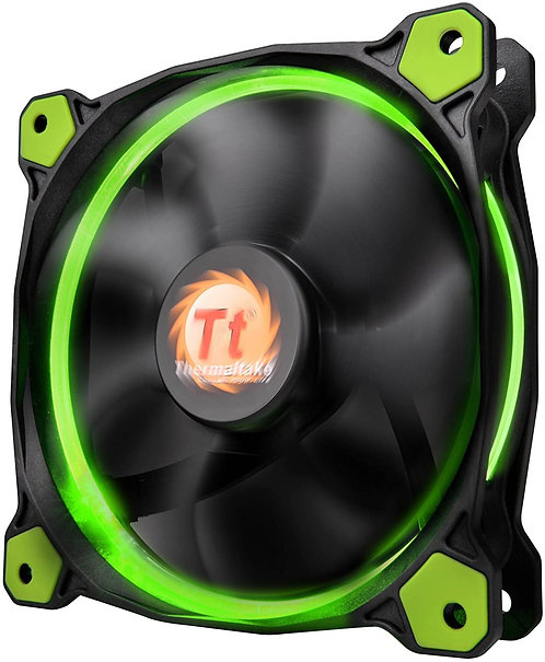 Thermaltake Riing 12 120mm Circular LED Ring Case/Radiator Fan System Cooling