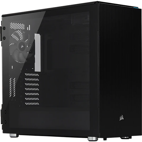 CORSAIR Carbide Series 678C Low Noise Tempered Glass ATX Case
