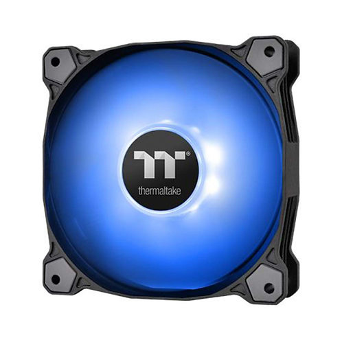 Thermaltake 120mm Pure A12 PWN Case Fan (Single Pack)-Blue CL-F109-PL12BU-B