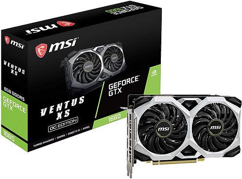 MSI Gaming GeForce GTX 1660 192-Bit HDMI/DP 6GB