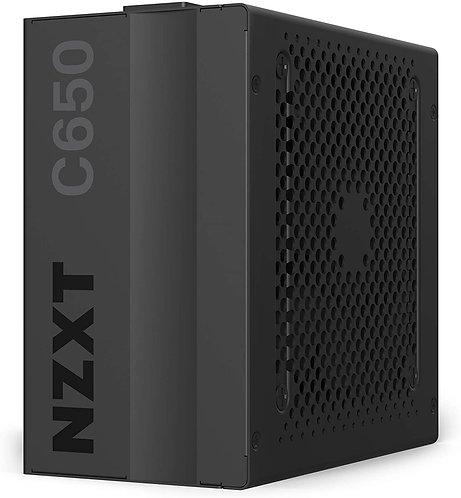 NZXT C650 - NP-C650M - 650 Watt PSU - 80+ Gold Certified - Hybrid Silent Fan Con