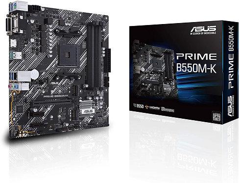 ASUS Prime B550M-K AMD 3rd Gen Ryzen Micro-ATX Motherboard