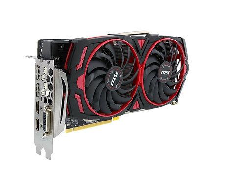 MSI Radeon RX 570 DirectX 12 RX 570 ARMOR MK2 8G OC 8GB 256-Bit