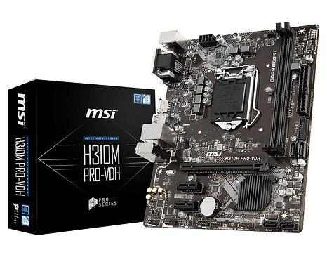 MSI H310M PRO-VDH LGA 1151 Micro ATX Intel Motherboard