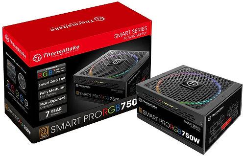 Thermaltake Smart Pro RGB 750W 80+ Bronze Smart Zero 256-Color RGB Fan