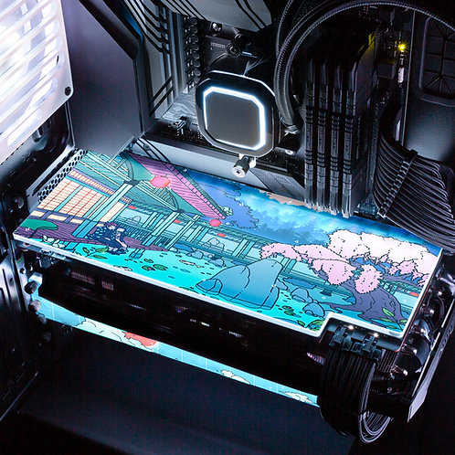 Kimetsu No Yaiba RGB GPU Backplate