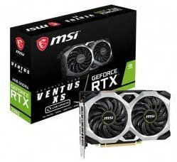 MSI NVIDIA GeForce RTX 2060 Ventus XS 6GB  Express Video Card