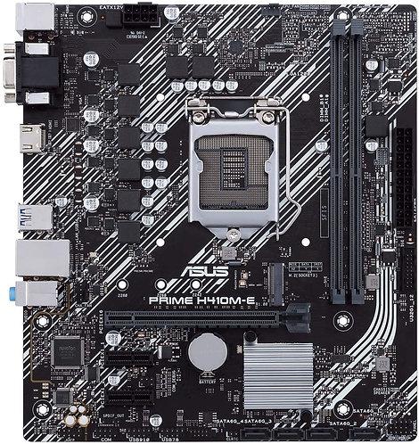 ASUS Prime H410M-E LGA1200 (Intel 10th Gen) Micro-ATX Motherboard