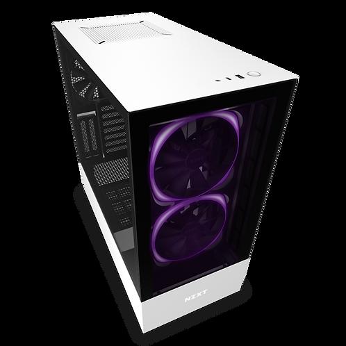 NZXT H510 Elite - CA-H510E-B1 - Premium Mid-Tower ATX Case PC Gaming Case