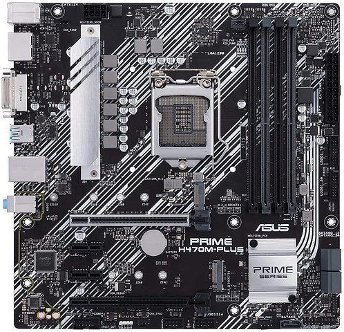 ASUS Prime H470M-PLUS/CSM LGA1200 (Intel 10th Gen) Micro-ATX Motherboard
