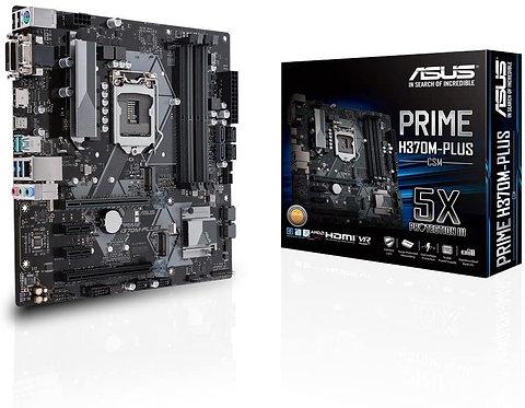 Asus Prime H370M-Plus/CSM Desktop Motherboard