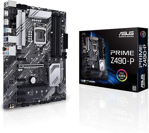 ASUS Prime Z490-P LGA 1200 (Intel 10th Gen) ATX Motherboard