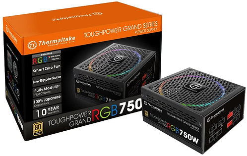 Thermaltake Toughpower Grand RGB 750W 80+ Gold Smart Zero 256-Color RGB