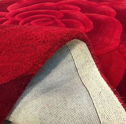 Textures Dunhelm Red 160x230cm