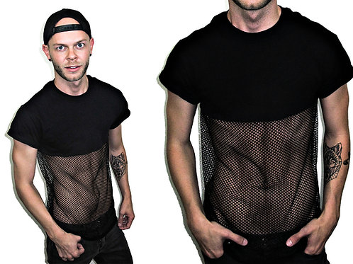 MY Mesh Bottom T-Shirt