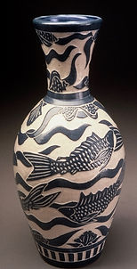 Tall Neck Vase
