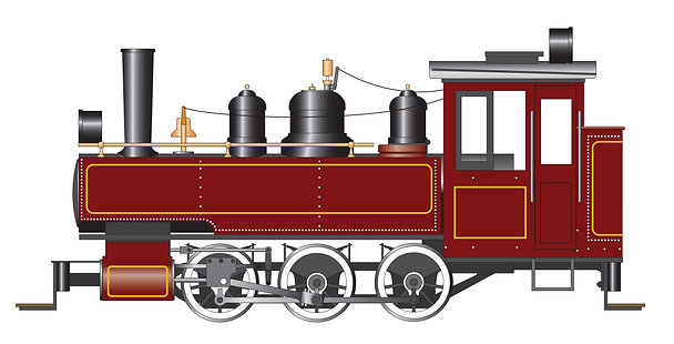 "Accucraft Baldwin ""Mabel"" 0-6-0T Live Steam"