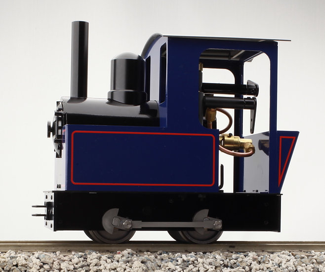 Accucraft Dora 0-4-0, Live Steam