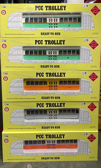Aristocraft 1:29 PCC Trolley Set (5 cars)