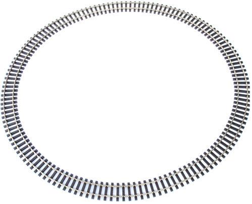 Code 332 Curve Track Aluminum 8Ft Dia