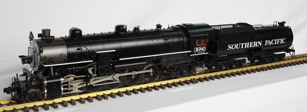 Accucraft 1:32 Southern Pacific F4 #3680, Electric