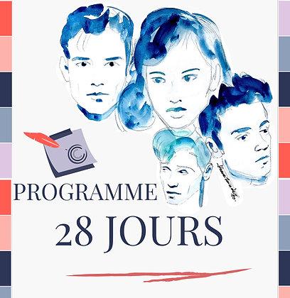 Programme 28 jours