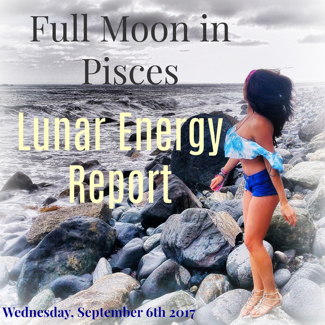 Lunar Energy Report: Welcome to the Full Moon in Pisces