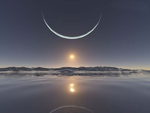 The First New Moon of 2016: Saturday, January 9th