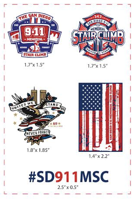 SD911MSC Temporary Tattoos