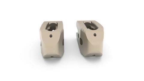 twin peaks PLIF bullet shaped