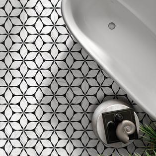 Corola Black Hexagon