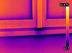 termografia serramento