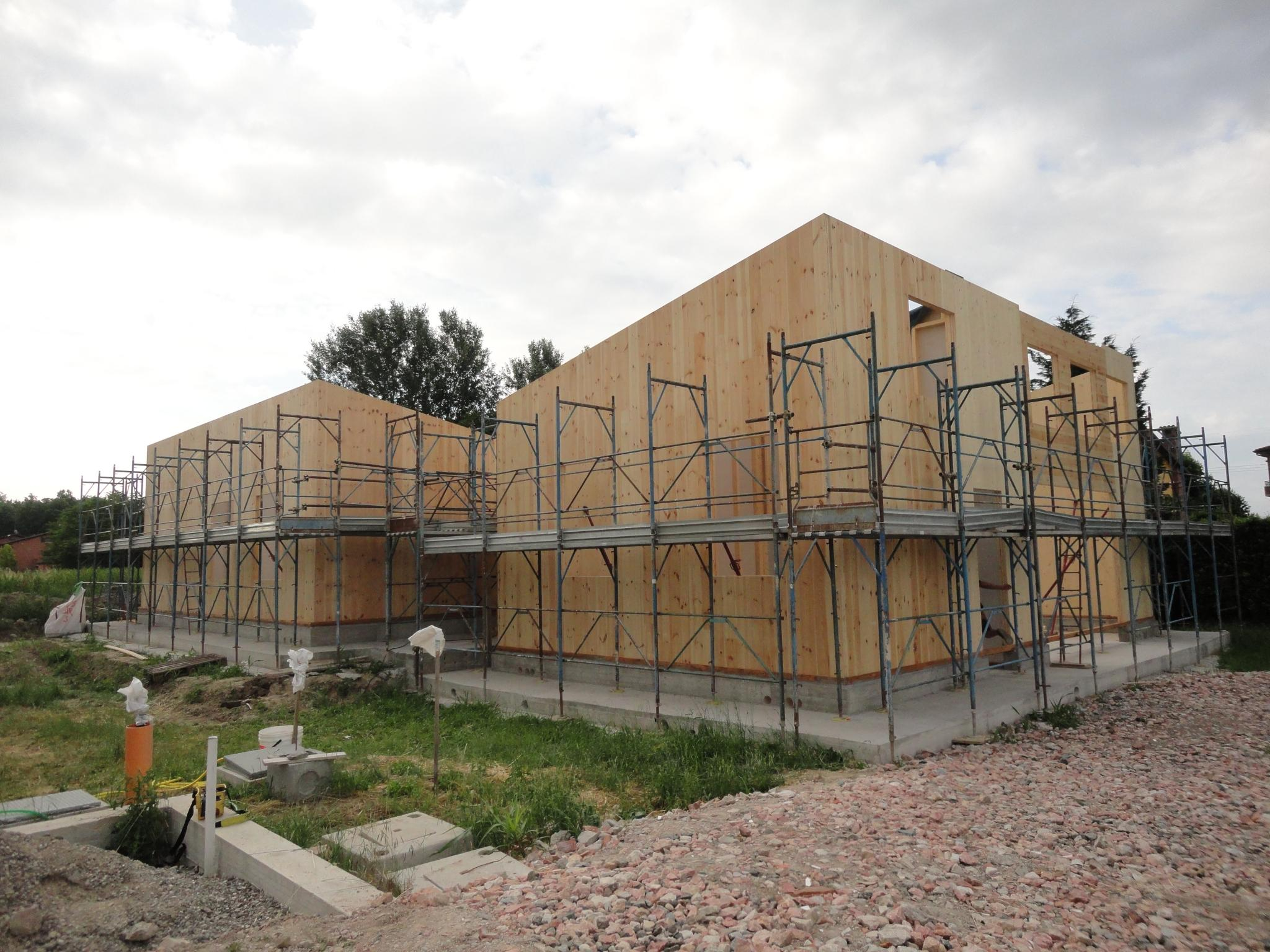 Casa in legno Solara