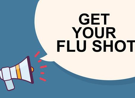 August 28, 2020: Muni Updates; Flu Shots; Lighter Side