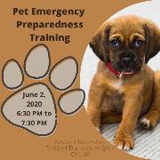 May 26, 2020: RNV Offers Pet Preparedness Virtual Training; COVID-19 Updates