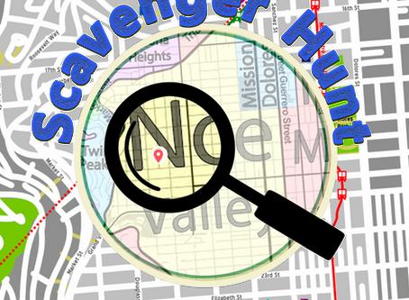 July 10, 2020: A Noe Valley Scavenger Hunt; Financial Resilience Webinar