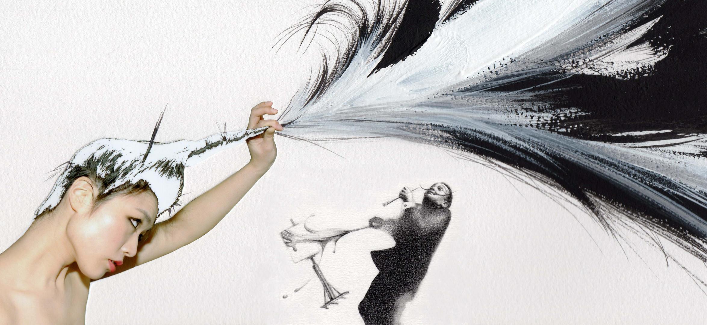 Brush Hair and Mr.Dali