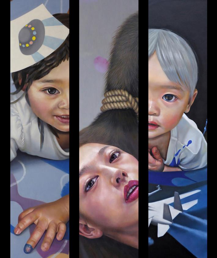 """個展 「苦多苦多 楽少」 Solo Exhibition """"Many Pains and Few Gains"""""""