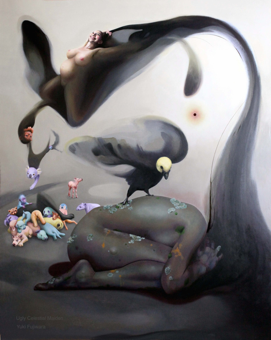 Ugly Celestial maiden   黒闇天